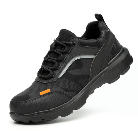 Anti-puncture Construction  Non-slip Breathable Security Shoes