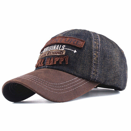 Men Wild Casual Embroidery Hat