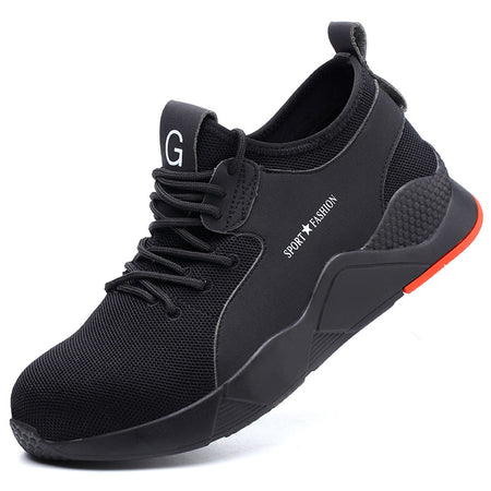 Fashion Mesh Breathable Antiskid And Wear Resistance Sneakers