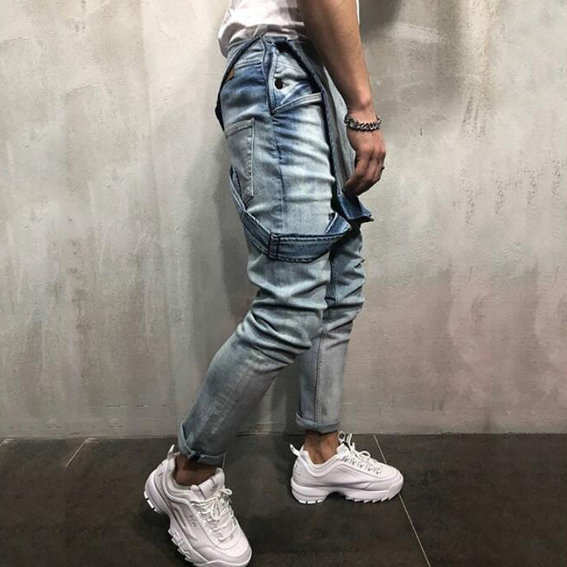 Trending Men's Denim Sling Trousers