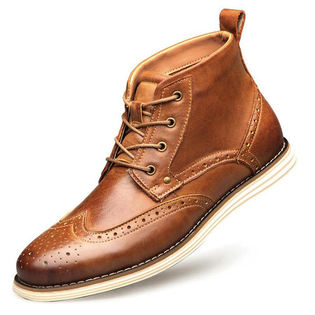 Men's Fashion Lace-Up High-Top Shoes