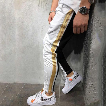 Fashion Casual Elastic Self-cultivation Pants