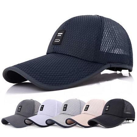 Men's Casual Summer Breathable Caps