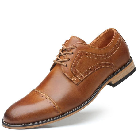 Casual Business Pointed Wear-resistant Shoes