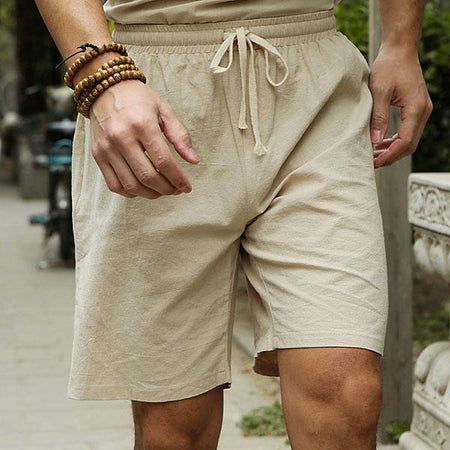 Casual Loose Elasticated Waist Shorts