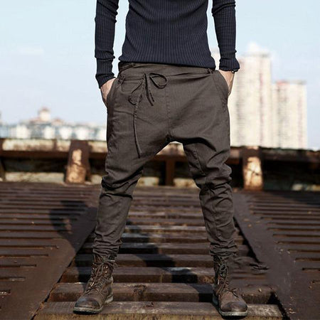 Fashion Casual Sport Loose Plain Long Pants