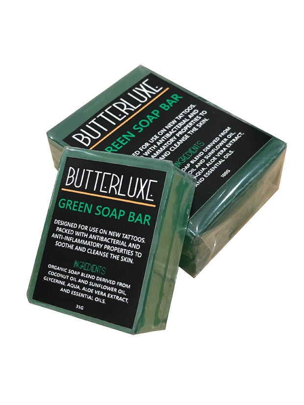 Green Soap Bar