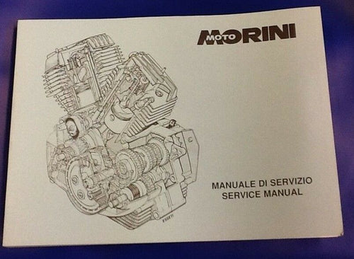 490106 Moto Morini Service Manual - - For 125, 250, 350 and 500 Moto Morini's