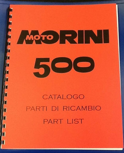 Moto Morini 500 Parts Book - ABOOK-H
