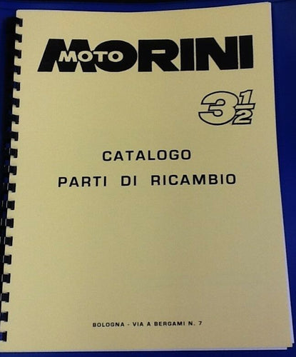 Moto Morini 350 Parts Book - ABOOK-C