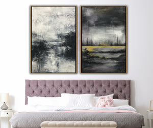 9 Ideas Black and White Paintings for Bedroom