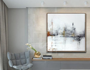How to decorate a hallway with large painting