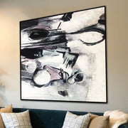 Abstract Art in Black and White | HYPNOSIS - Trend Gallery Art | Original Abstract Paintings