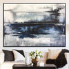Abstract Painting in Black and White | WATER REFLECTION - Trend Gallery Art | Original Abstract Paintings