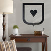 Metal Heart Wall Decor Wood Heart Sign Valentine's Day Gift Wood Love Heart Metal Home Decor Outdoor Indoor Art Metal Heart | LOVE HEART - Trend Gallery Art | Original Abstract Paintings