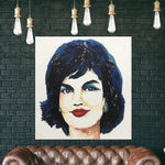 Jackie Kennedy Portrait Abstract Painting Jackie Kennedy Portrait Canvas Pop Art | JACQUELINE