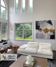 Abstract Painting Gold Leaf Painting Abstract Acrylic Painting On Canvas | FETTERS OF THE SOUL - Trend Gallery Art | Original Abstract Paintings