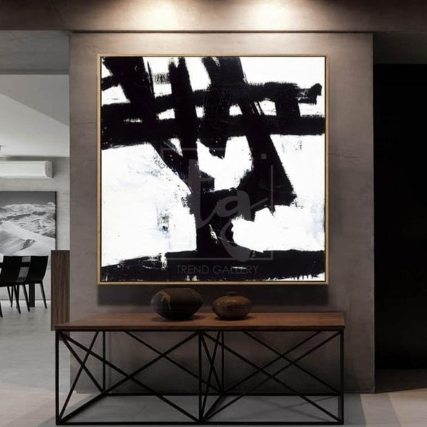 Abstract Art in Black and White | WANDERER - Trend Gallery Art | Original Abstract Paintings