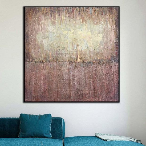 Abstract Painting On Canvas Art Work For Living Room Extra Large Wall Art | EARTH CRUST - Trend Gallery Art | Original Abstract Paintings