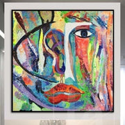 Abstract Painting On Canvas Large Wall Art Canvas Colorful Painting Lifestyle Painting Art | THE COLORS OF THE SOUL - Trend Gallery Art | Original Abstract Paintings