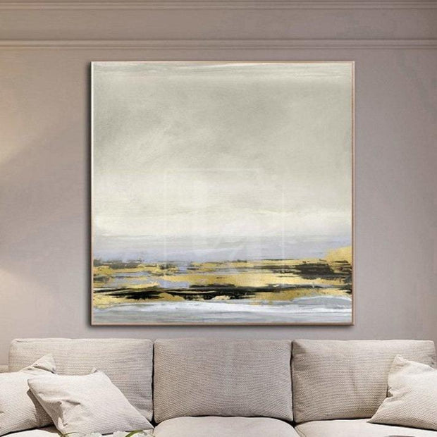 Abstract Painting Original Large Beige Painting Oversized Abstract Wall Art Office Painting | ROYAL TRACT - Trend Gallery Art | Original Abstract Paintings