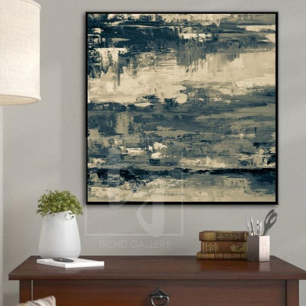 Abstract Painting Original Large Abstract Oil Painting Unique Painting | HACKED SYSTEM - Trend Gallery Art | Original Abstract Paintings