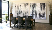 Black And White Art Original Painting Snow Break Abstract Palette Knife Art 2 Piece | RAIN COVER - Trend Gallery Art | Original Abstract Paintings