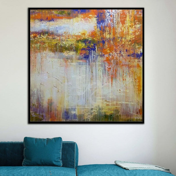 Canvas Art Abstract Abstract Canvas Wall Art Abstract Art Painting | SYNTHESIS - Trend Gallery Art | Original Abstract Paintings