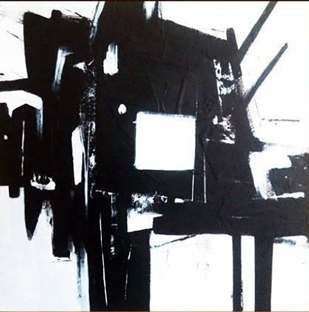 Abstract Art in Black and White | DYSTOPIA - Trend Gallery Art | Original Abstract Paintings