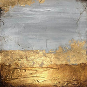 Original Gold Painting Large Abstract Painting Contemporary Abstract Painting | DESERT WINDS - Trend Gallery Art | Original Abstract Paintings