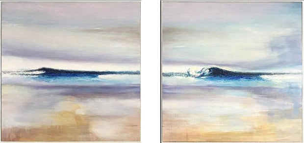 Creative Abstract Painting Original Sea Coastal Painting Modern Set Texture Artwork | PIECE OF PARADISE - Trend Gallery Art | Original Abstract Paintings