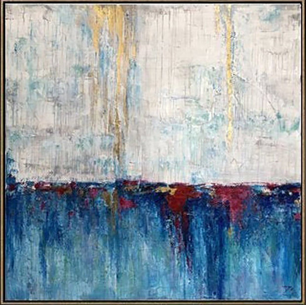 Large Oil Painting Contemporary Painting Abstract Painting On Canvas | MARVELOUS LAKE - Trend Gallery Art | Original Abstract Paintings