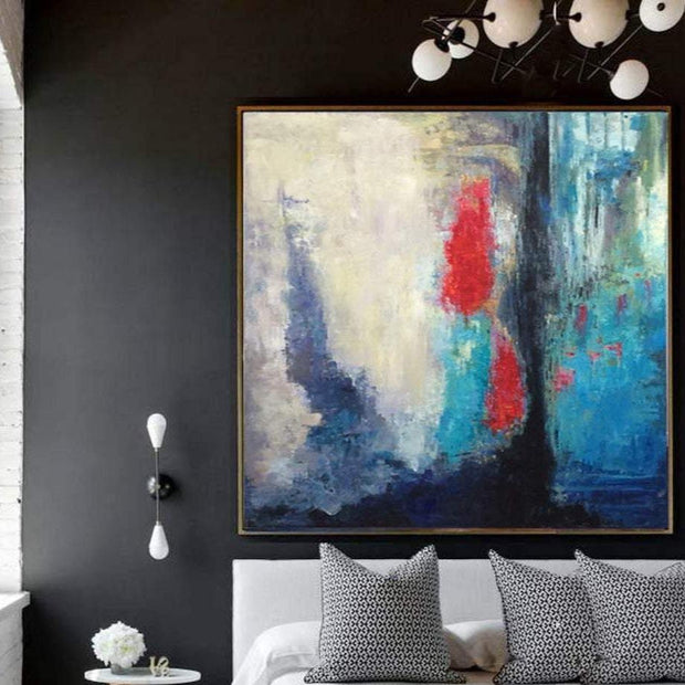 arge Abstract Painting On Canvas Colorful Abstract Painting Original Abstract Canvas Art Acrylic Painting On Canvas | IMMERSION - Trend Gallery Art | Original Abstract Paintings