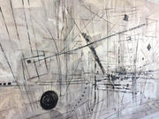 Large Original Painting On Canvas Modern Black And White Painting Acrylic Painting | COBWEB - Trend Gallery Art | Original Abstract Paintings