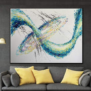 Original Abstract Acrylic Painting On Canvas Modern Painting Contemporary Abstract Painting Oversized Wall Artwork | EARTH SWIRL - Trend Gallery Art | Original Abstract Paintings