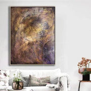 Large Abstract Painting On Canvas Brown Painting Modern Painting Art Canvas | AUTUMN ENERGY - Trend Gallery Art | Original Abstract Paintings