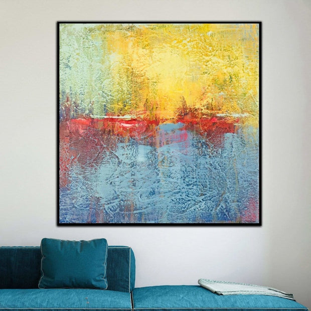 Large Abstract Wall Painting Modern Abstract Oil Painting Colorful Abstract Painting | VERTIGO - Trend Gallery Art | Original Abstract Paintings