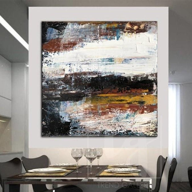 Large Colorful Abstract Artwork Large Abstract Canvas Art Wall Abstract Painting | GRAVITY FALL - Trend Gallery Art | Original Abstract Paintings