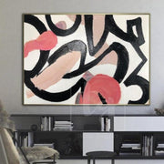 Original Abstract Painting Large Oil Paintings On Canvas Acrylic Painting Abstract | WHISPER OF THE HEART - Trend Gallery Art | Original Abstract Paintings