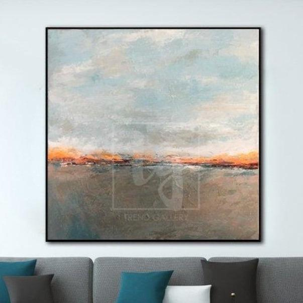 Original Abstract Painting Abstract Living Room Wall Art Modern Painting | FINE LINE - Trend Gallery Art | Original Abstract Paintings
