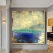 Original Sea Painting Abstract Acrylic Paintings On Extremely Unique Painting Contemporary Painting | SUMMER COLORS - Trend Gallery Art | Original Abstract Paintings