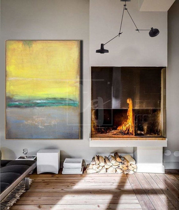 Oversized Abstract Painting Original Abstract Painting Modern Painting Abstract Oil Painting | SUMMER DAWN - Trend Gallery Art | Original Abstract Paintings
