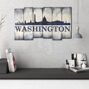 Washington Decor Wood Burning Art Carved Wood Wall Panel Gift For Him Washington Art Washington Sign Washington Wall Art Customized Sign | WOOD DECOR# 50 - Trend Gallery Art | Original Abstract Paintings