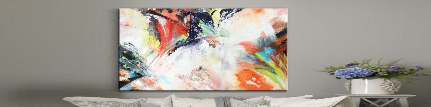 How to decorate a bedroom with painting original