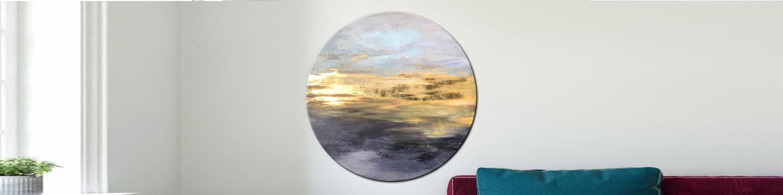 How to decorate an office with texture art