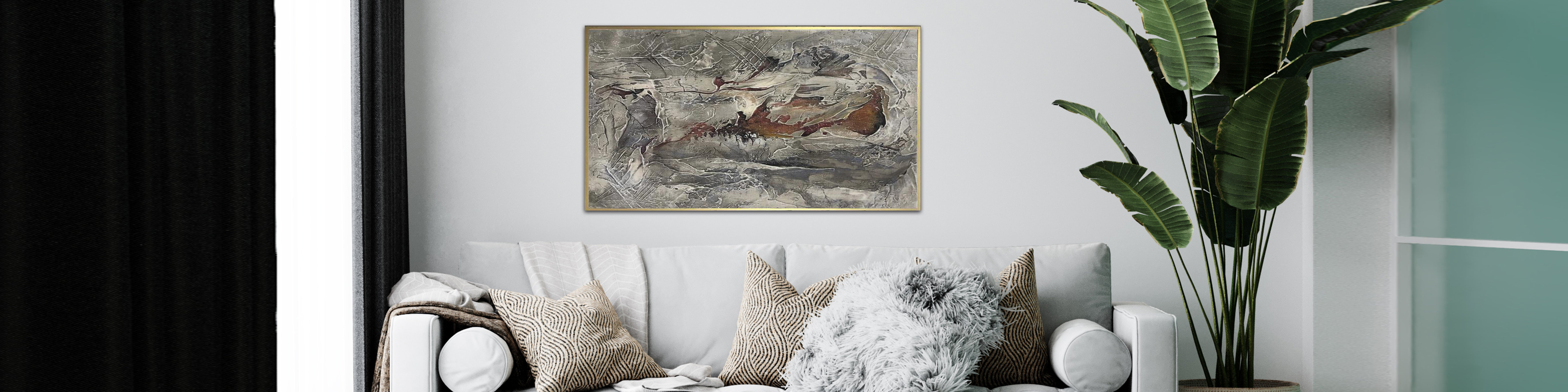 How to use landscape paintings in modern decor?