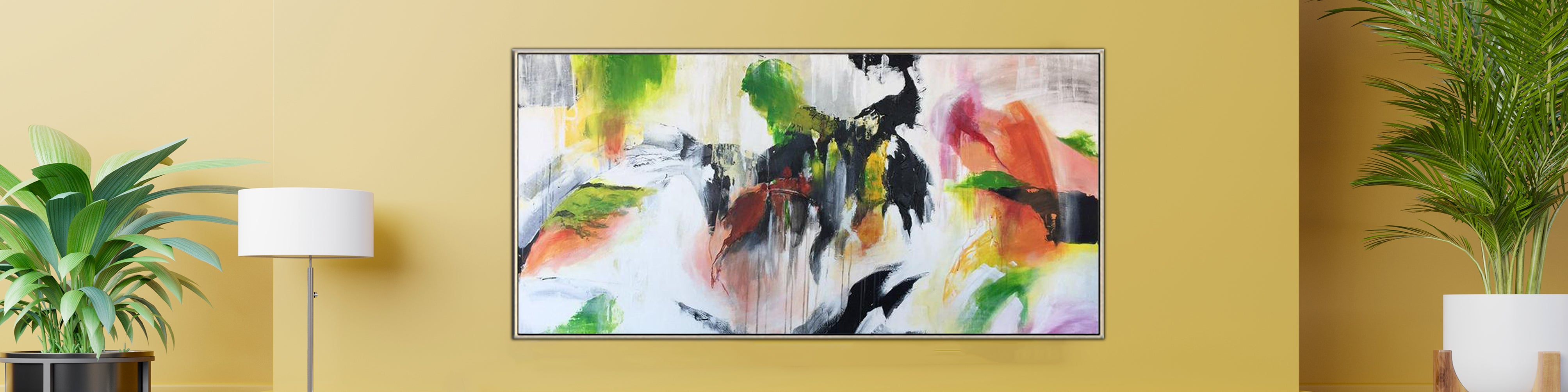 Breathtaking techniques on how to decorate a living room with acrylic on canvas