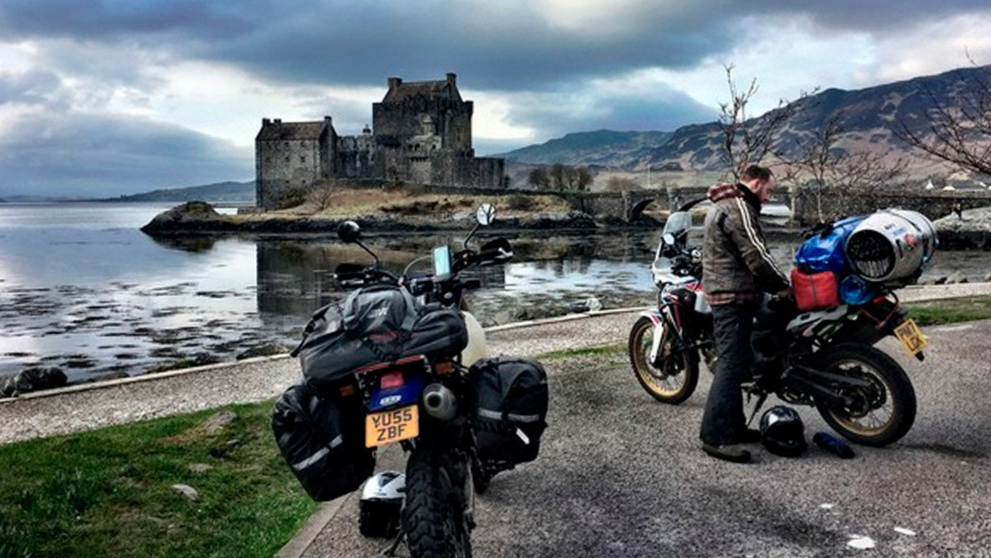 Bushpig Adventures - Scotland on the Suzuki DR650