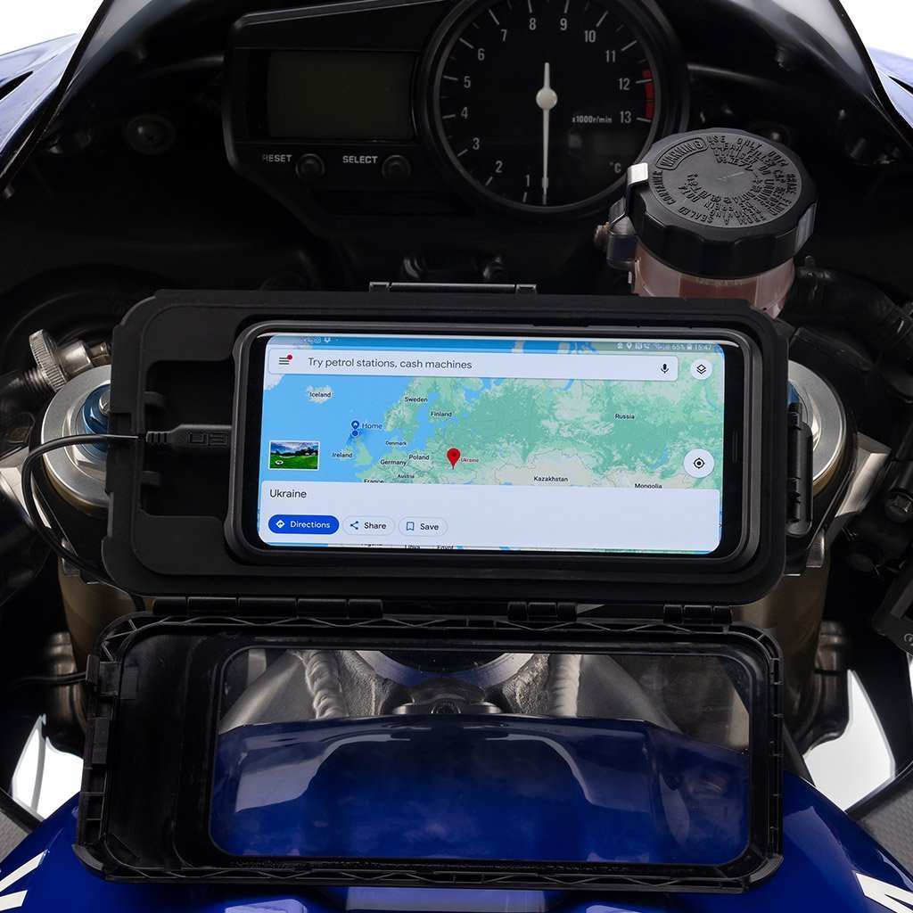 Sports Bike Tough Waterproof Phone Hard Case Mount Kit - Ultimateaddons