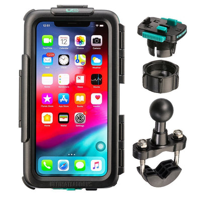 Waterproof Tough Case & Strong Secure Bike Handlebar Mounting Kit Apple iPhone 11 Pro Max - Ultimateaddons